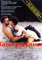 Against All Odds - German Movie Poster (xs thumbnail)