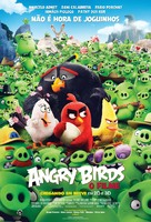 The Angry Birds Movie - Brazilian Movie Poster (xs thumbnail)
