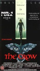 The Crow - Danish VHS movie cover (xs thumbnail)