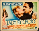 Lady by Choice - Movie Poster (xs thumbnail)