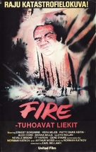 Fire! - Finnish VHS movie cover (xs thumbnail)