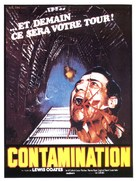 Contamination - French Movie Poster (xs thumbnail)