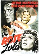 Stage Fright - German Movie Poster (xs thumbnail)