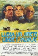 Comes a Horseman - Spanish Movie Poster (xs thumbnail)