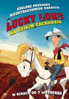 Tous à l'Ouest: Une nouvelle aventure de Lucky Luke - Polish Movie Poster (xs thumbnail)