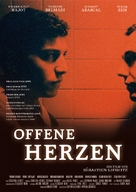 Les corps ouverts - German Movie Poster (xs thumbnail)