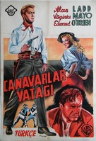 The Big Land - Turkish Movie Poster (xs thumbnail)