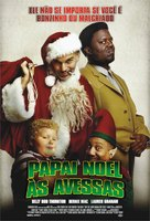 Bad Santa - Brazilian Movie Poster (xs thumbnail)