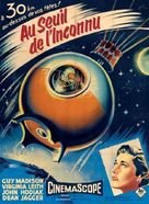 On the Threshold of Space - French Movie Poster (xs thumbnail)