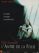 In the Mouth of Madness - French Movie Poster (xs thumbnail)