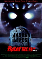 Jason Lives: Friday the 13th Part VI - German Movie Cover (xs thumbnail)