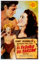 Tarzan's Secret Treasure - Spanish Movie Poster (xs thumbnail)