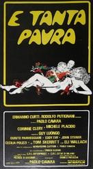 ...e tanta paura - Italian Movie Poster (xs thumbnail)