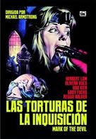 Hexen bis aufs Blut gequält - Spanish DVD movie cover (xs thumbnail)