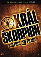 The Scorpion King 3: Battle for Redemption - Czech DVD cover (xs thumbnail)