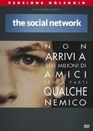 The Social Network - Italian DVD movie cover (xs thumbnail)