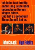 High Fidelity - German Movie Poster (xs thumbnail)