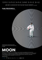 Moon - German Movie Poster (xs thumbnail)