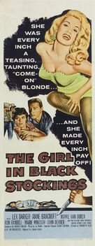 The Girl in Black Stockings - Movie Poster (xs thumbnail)