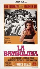 La bambolona - Italian Movie Poster (xs thumbnail)