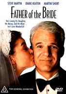 Father of the Bride - Australian DVD movie cover (xs thumbnail)