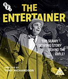 The Entertainer - British Blu-Ray movie cover (xs thumbnail)