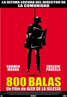 800 balas - Spanish Movie Poster (xs thumbnail)
