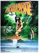 The Treasure of the Amazon - French Movie Poster (xs thumbnail)