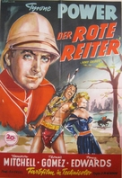Pony Soldier - German Movie Poster (xs thumbnail)