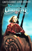 Queen Christina - German VHS cover (xs thumbnail)