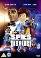 Spies in Disguise - British DVD movie cover (xs thumbnail)