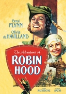 The Adventures of Robin Hood - DVD movie cover (xs thumbnail)