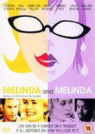 Melinda And Melinda - British DVD cover (xs thumbnail)