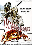 Born Free - French Movie Poster (xs thumbnail)