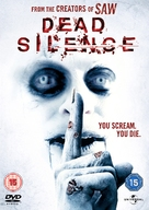 Dead Silence - British DVD cover (xs thumbnail)