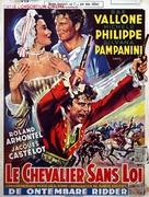 Le avventure di Mandrin - Belgian Movie Poster (xs thumbnail)