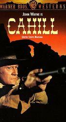 Cahill U.S. Marshal - VHS cover (xs thumbnail)