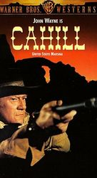 Cahill U.S. Marshal - VHS movie cover (xs thumbnail)