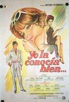 Io la conoscevo bene - Argentinian Movie Poster (xs thumbnail)