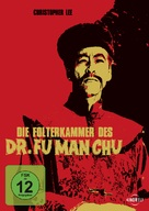 The Castle of Fu Manchu - German Movie Cover (xs thumbnail)