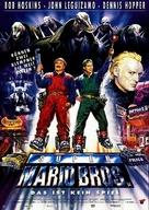 Super Mario Bros. - German Movie Poster (xs thumbnail)