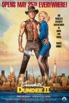 Crocodile Dundee II - Advance movie poster (xs thumbnail)