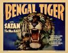Bengal Tiger - Movie Poster (xs thumbnail)