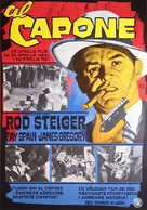 Al Capone - Swedish Movie Poster (xs thumbnail)