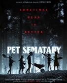 Pet Sematary - Norwegian Movie Poster (xs thumbnail)