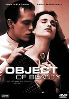 The Object of Beauty - German poster (xs thumbnail)