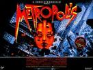 Metropolis - British Re-release movie poster (xs thumbnail)