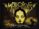 Metropolis - British Re-release movie poster (xs thumbnail)