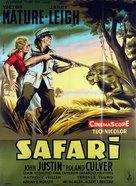 Safari - French Movie Poster (xs thumbnail)