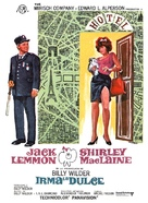Irma la Douce - Spanish Movie Poster (xs thumbnail)